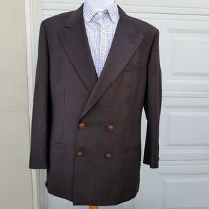 Versace Suits & Blazers - GIANNI VERSACE MENS DOUBLE BREASTED Blazer